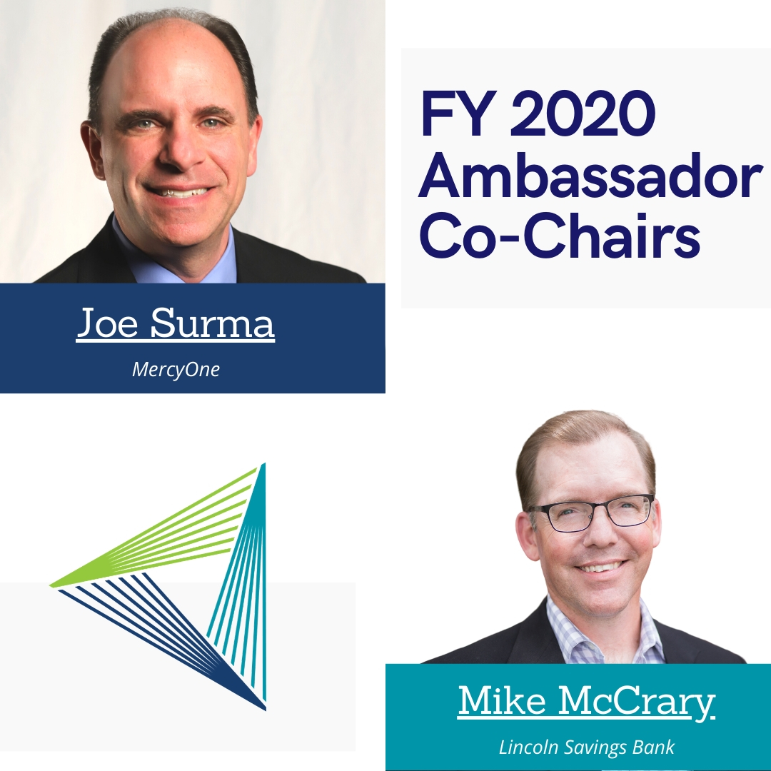 2020-2021 Grow Cedar Valley Ambassador Co-Chairs