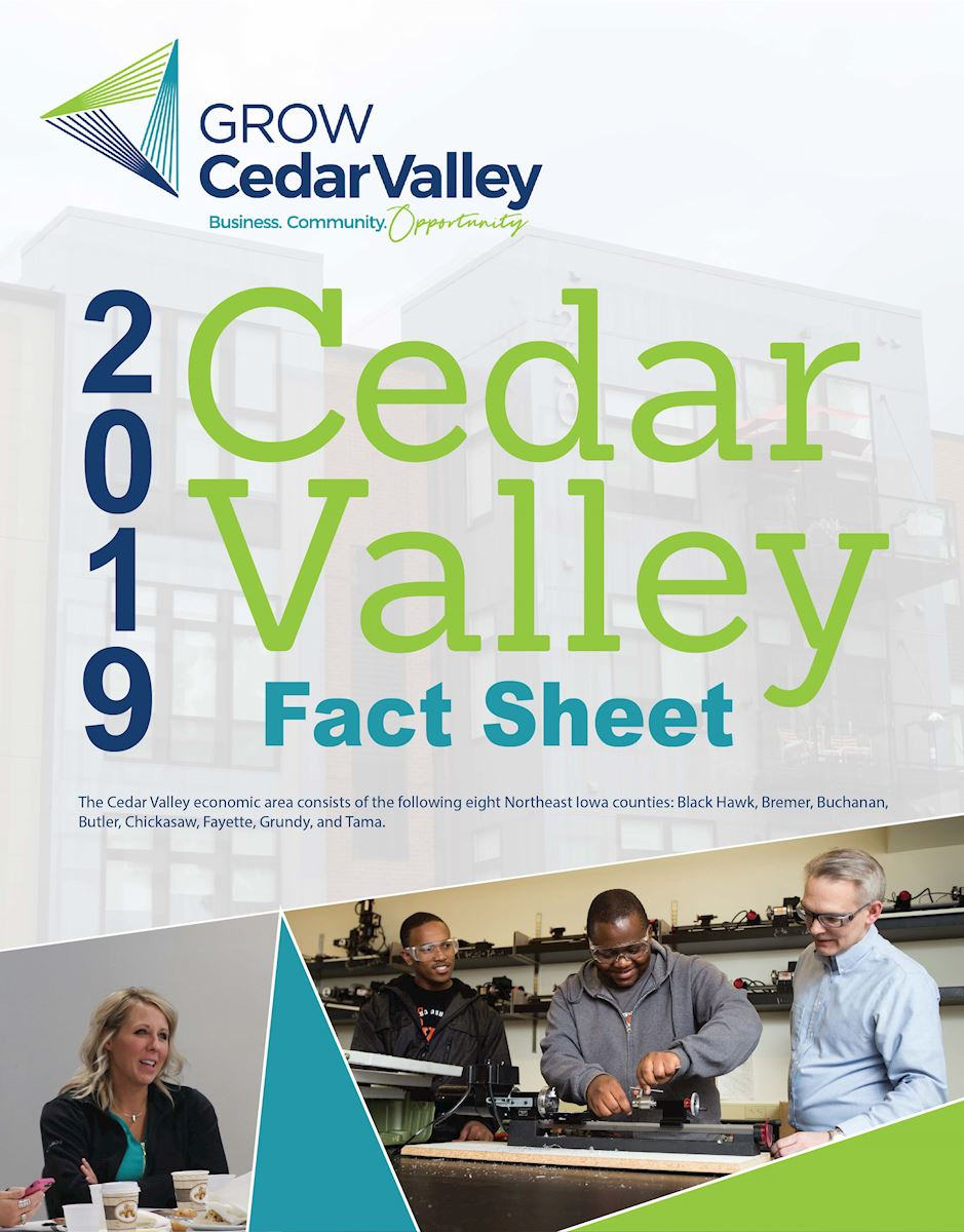 2019 Cedar Valley Fact Sheer