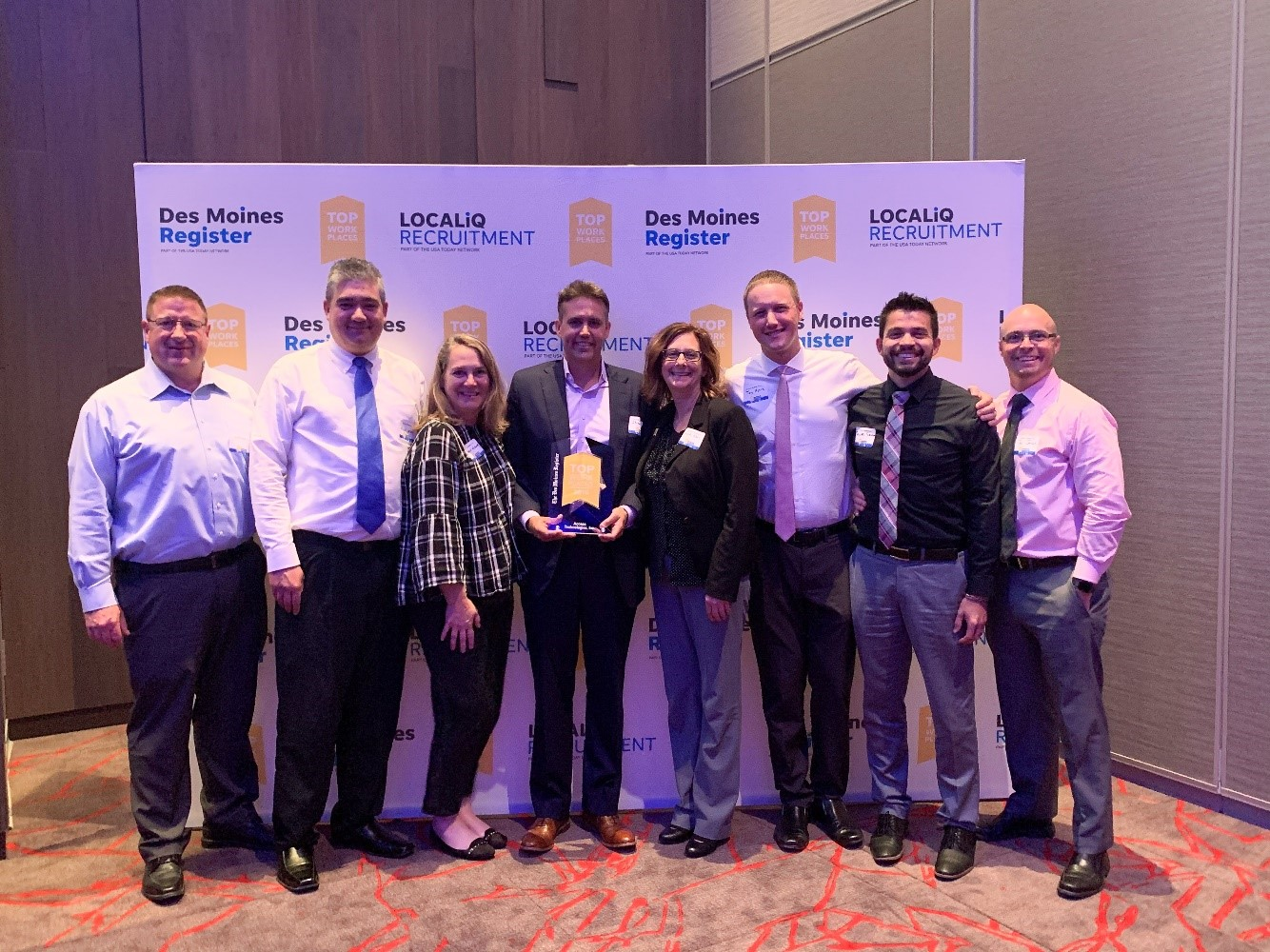 Access Systems Named #1 Top Workplace in Iowa