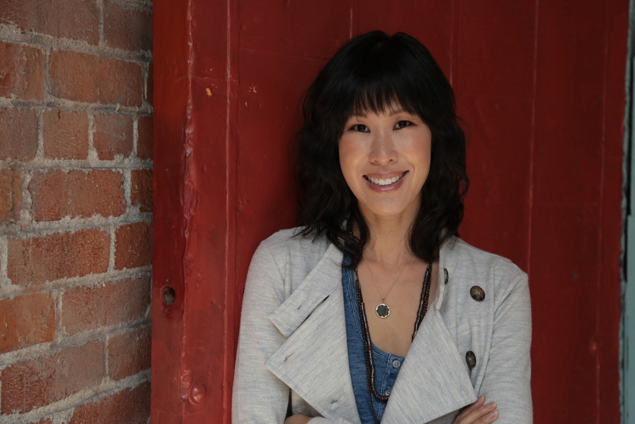 Laura Ling speaker for Leadercast Women in the Cedar Valley of Iow
